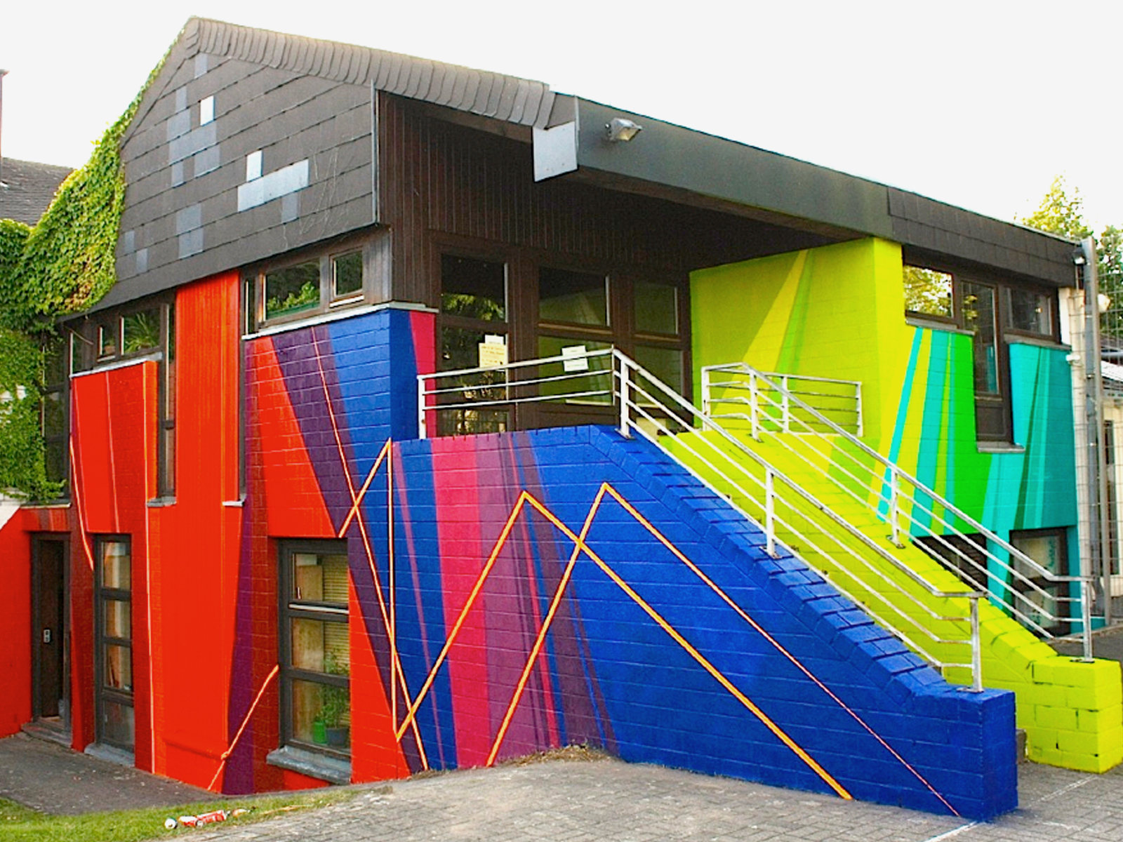 haus,graffiti,Wandgestaltung,Kraftwerksschule,essen,düsseldorf,2014,graffiti,fassadengestaltung,graffitikuenstler,graffitiagentur,graffiti studio,berlin