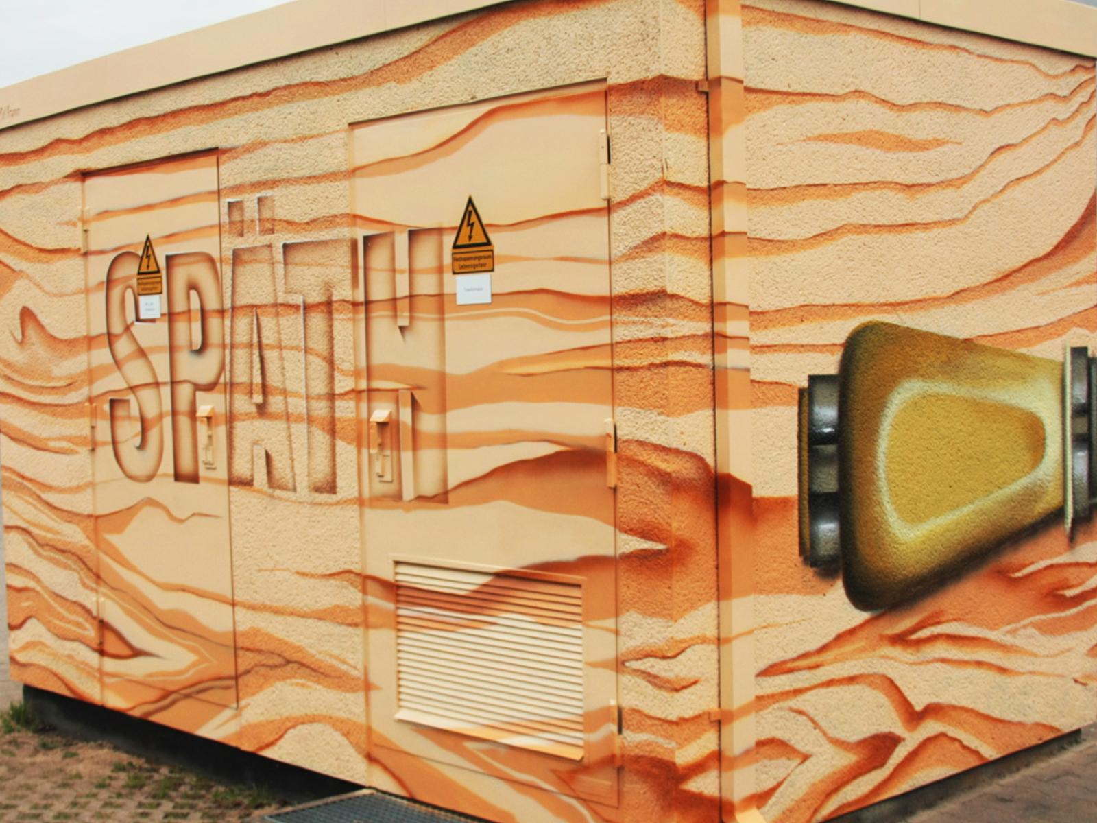 illusion,anamorph,photorealistisch,graffiti,Wandgestaltung,Kraftwerksschule,essen,düsseldorf,2014,graffiti,fassadengestaltung,graffitikuenstler,graffitiagentur,graffiti studio,berlin