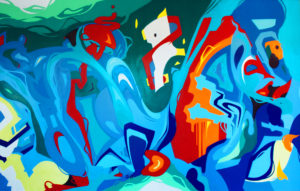 Wandgestaltung,Kraftwerksschule,essen,2014,graffiti,fassadengestalung,graffitikünstler,graffitiagentur