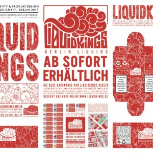 "Branding, Logo Liquidmarke ""Liquidkings"", Berlin 2017"