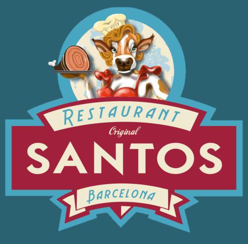 Restaurant Santos Logo