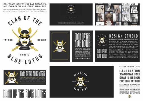 "Tattoostudio""Clan of the blue Lotus"""
