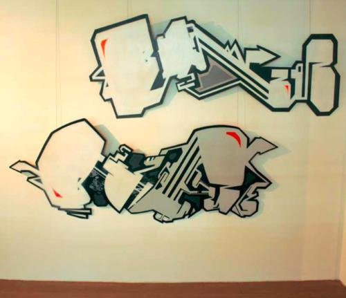 """Ausstellung """"Kreuzgang"""", Düsseldorf"""