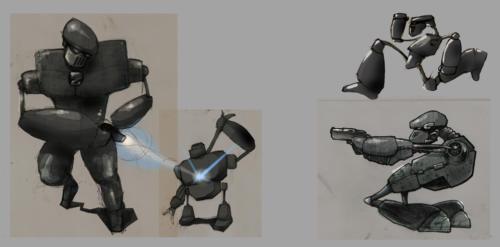 Roboter - Character Studie