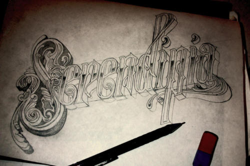 Serendipia - Sketch